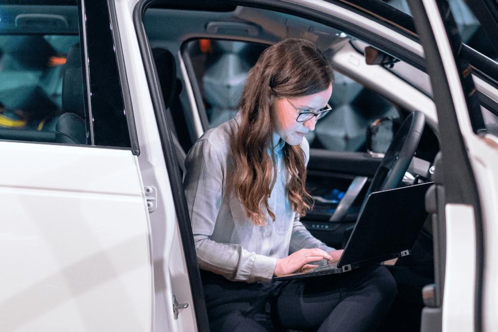 vendas digitais de automóveis